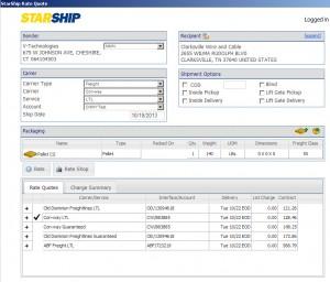 StarShip - updates - Shipping Software