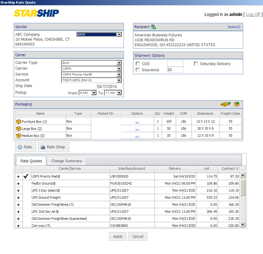 Shipping Quote Classy Starship Shipping Software  Work Lessship More